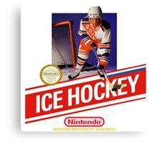 NES Ice Hockey  Canvas Print