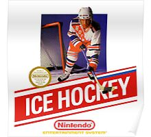 NES Ice Hockey  Poster
