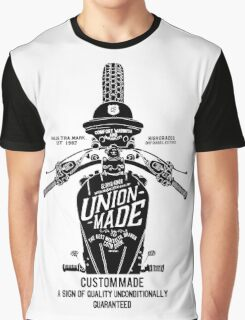Custom Made, Union Made Motorcycle Graphic T-Shirt