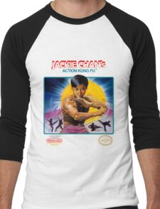 NES Jackie Chan Action Kung Fu  Men's Baseball ¾ T-Shirt