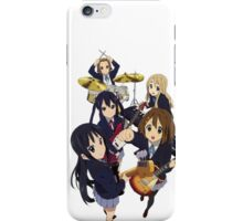 k-on the bands together part one  iPhone Case/Skin