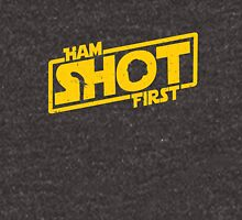 Hamilton Shot First Unisex T-Shirt