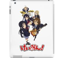 k-on the bands together part one  iPad Case/Skin