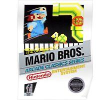 NES The Original Mario Brothers  Poster