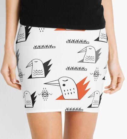 Birds in flames Mini Skirt