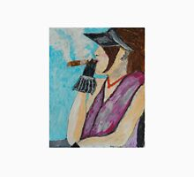 Lady with Cigar Unisex T-Shirt
