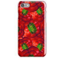 Vegetables pattern composition iPhone Case/Skin