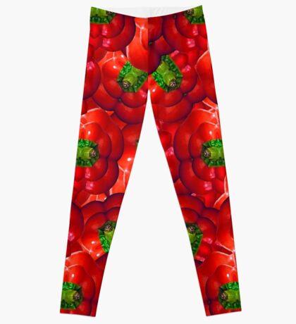 Vegetables pattern composition Leggings