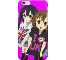 london hype k-on anime design  iPhone Case/Skin