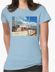 boat II Womens Fitted T-Shirt