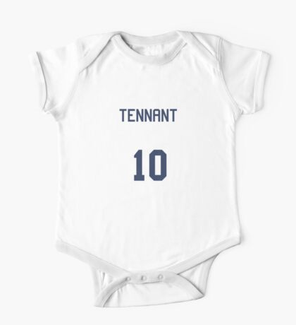 Doctor Who Sports Shirt- TENNANT One Piece - Short Sleeve