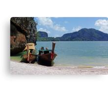 Island Getaway Canvas Print