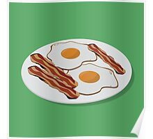 Bacon & Eggs Poster