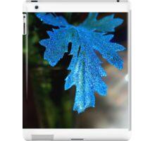 Blue Leaf iPad Case/Skin
