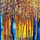 Poplars at daybreak by Elizabeth Kendall