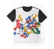 Colourful paper pins Graphic T-Shirt
