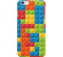 lego bricks pattern iPhone Case/Skin