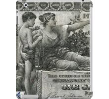 One U.S. Dollar Bill - 1896 Educational Series  iPad Case/Skin