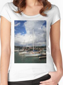 Boat III Women's Fitted Scoop T-Shirt