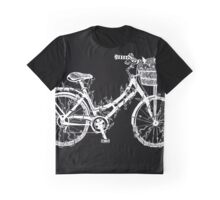 Floral Bike Graphic T-Shirt
