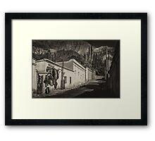 Comedor - antique style Framed Print