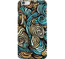 chaotic bright pattern iPhone Case/Skin