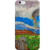 Rainbow in Arizona iPhone Case/Skin