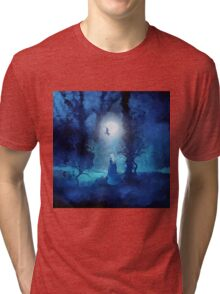 The Magician by Viviana Gonzales and Paul Kimble Tri-blend T-Shirt