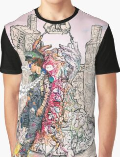 Cool abstract art rapper old school Graphic T-Shirt