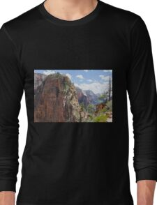 Hike up to Angels Landing Long Sleeve T-Shirt