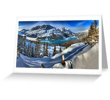 Bow Summit Spectacular Greeting Card