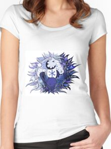 Horse Ying Yang Women's Fitted Scoop T-Shirt