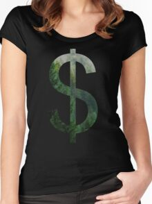 Capitalistic Forest Women's Fitted Scoop T-Shirt