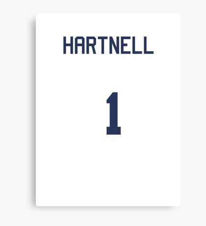 Doctor Who Sports Shirt- HARTNELL Canvas Print
