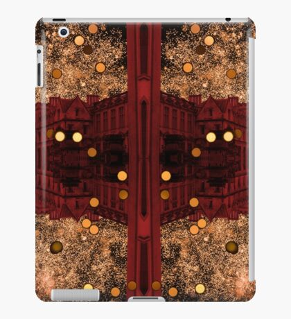 glitter and gold iPad Case/Skin