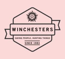 The Winchesters Vintage Logo 5 Kids Tee