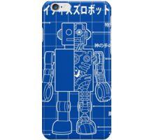 Mighty Tin Robotto Blueprint iPhone Case/Skin
