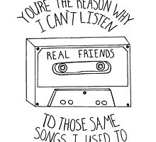 Real Friends Cassette by Tara Margolis