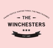 The Winchesters Vintage Logo 7 One Piece - Short Sleeve