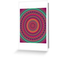 Mandala 136 Greeting Card