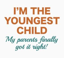 Youngest Child Kids Tee