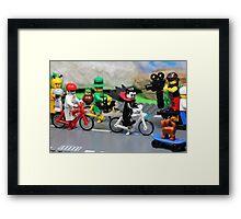 Dracula's Tour de France Framed Print