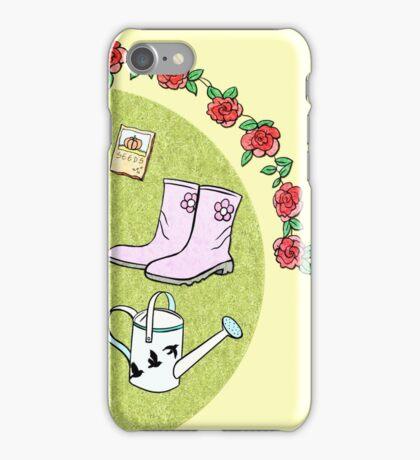 The Gardening Devotee iPhone Case/Skin
