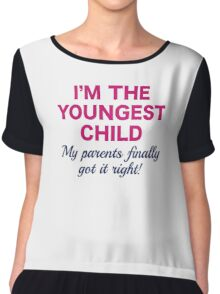 Youngest Child Chiffon Top