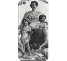 Two U.S. Dollar Bill - 1896 Educational Series  iPhone Case/Skin