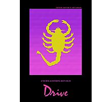 Drive minimalist movie poster Photographic Print