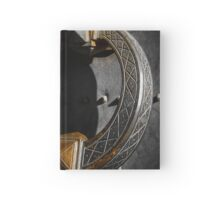 Big beautiful doorknocker on entrance door of Castel Sant'Angelo Hardcover Journal