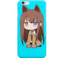 Makise Kurisu iPhone Case/Skin