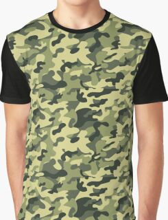 military texture Graphic T-Shirt