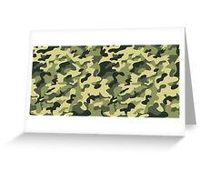 military texture Greeting Card